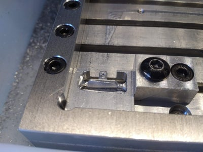 Machining the Side Switch