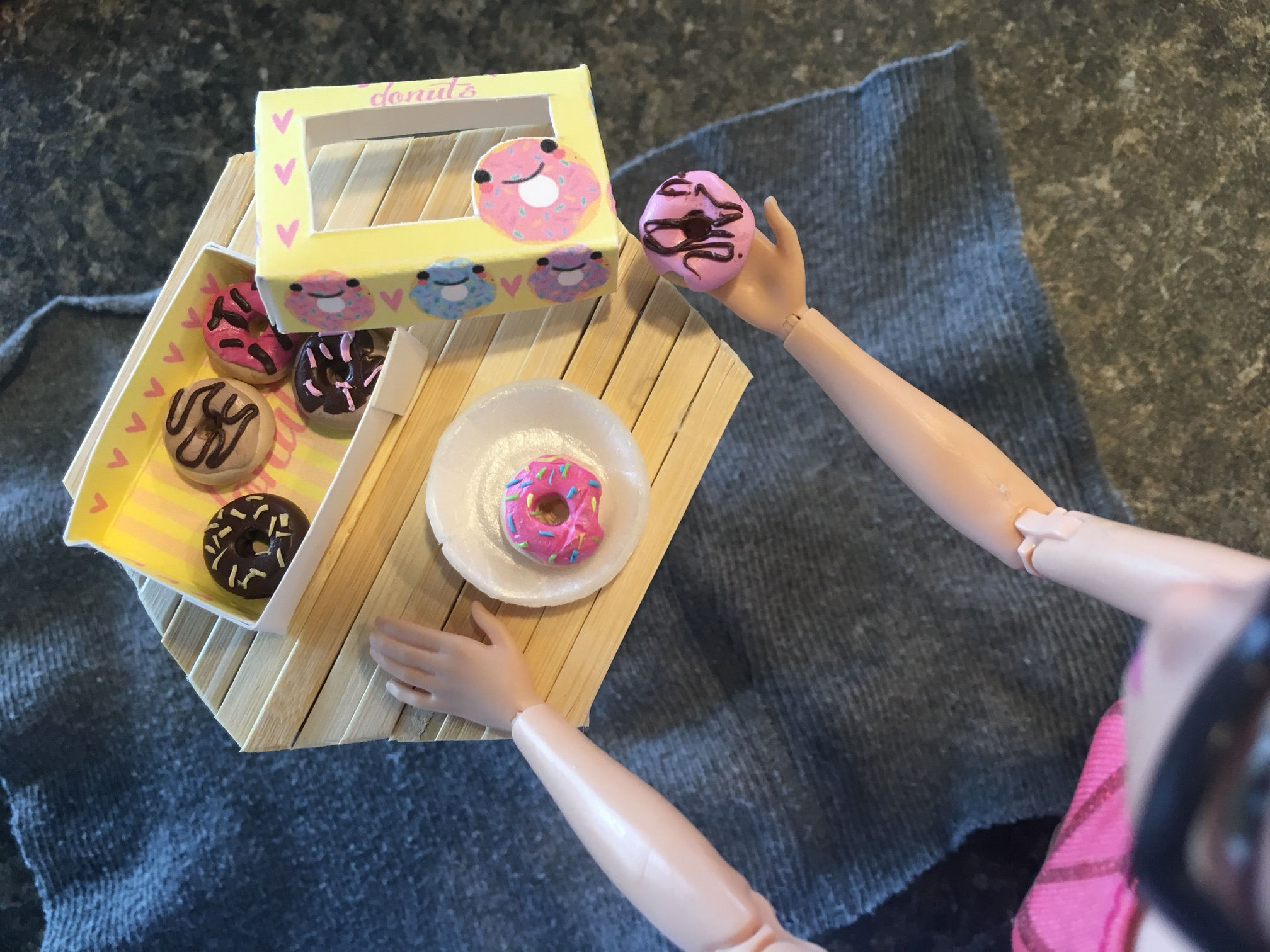 Picture of Miniature Donuts + FREE PRINTABLE