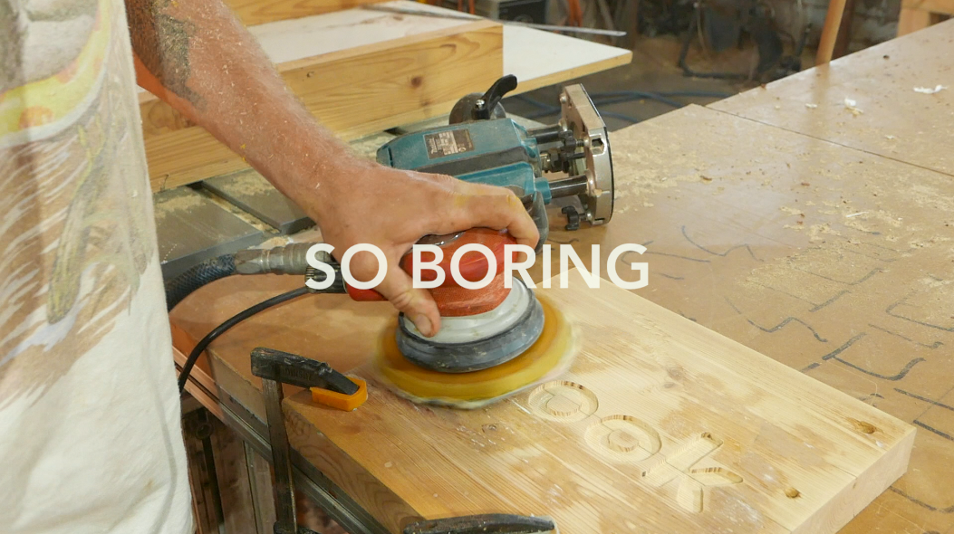 Picture of Speaking of Sanding...