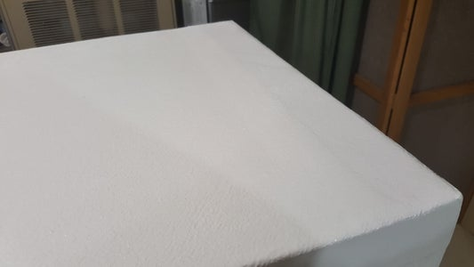Canvas & Glue Over Foam Project