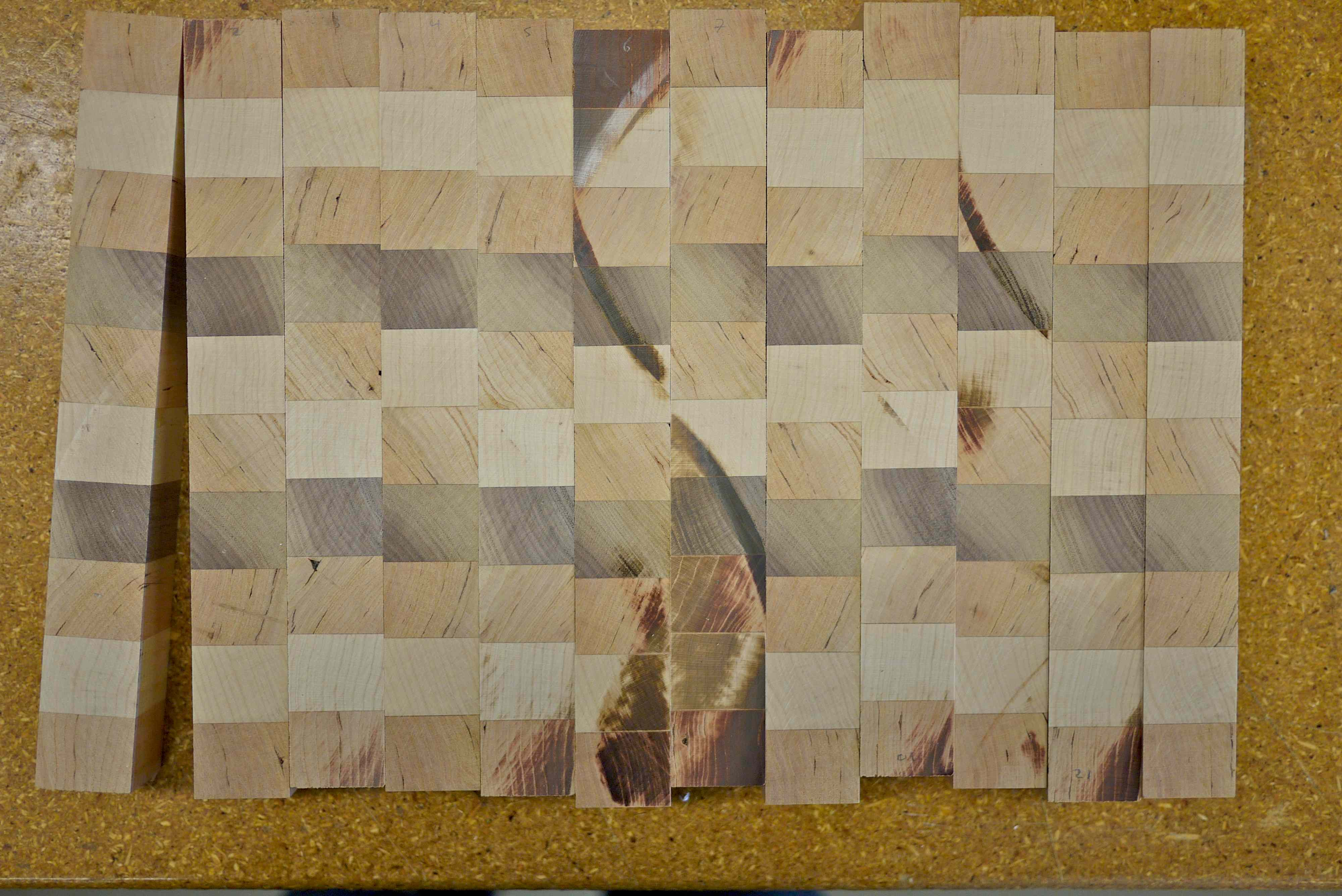 Picture of Exposing the End Grain