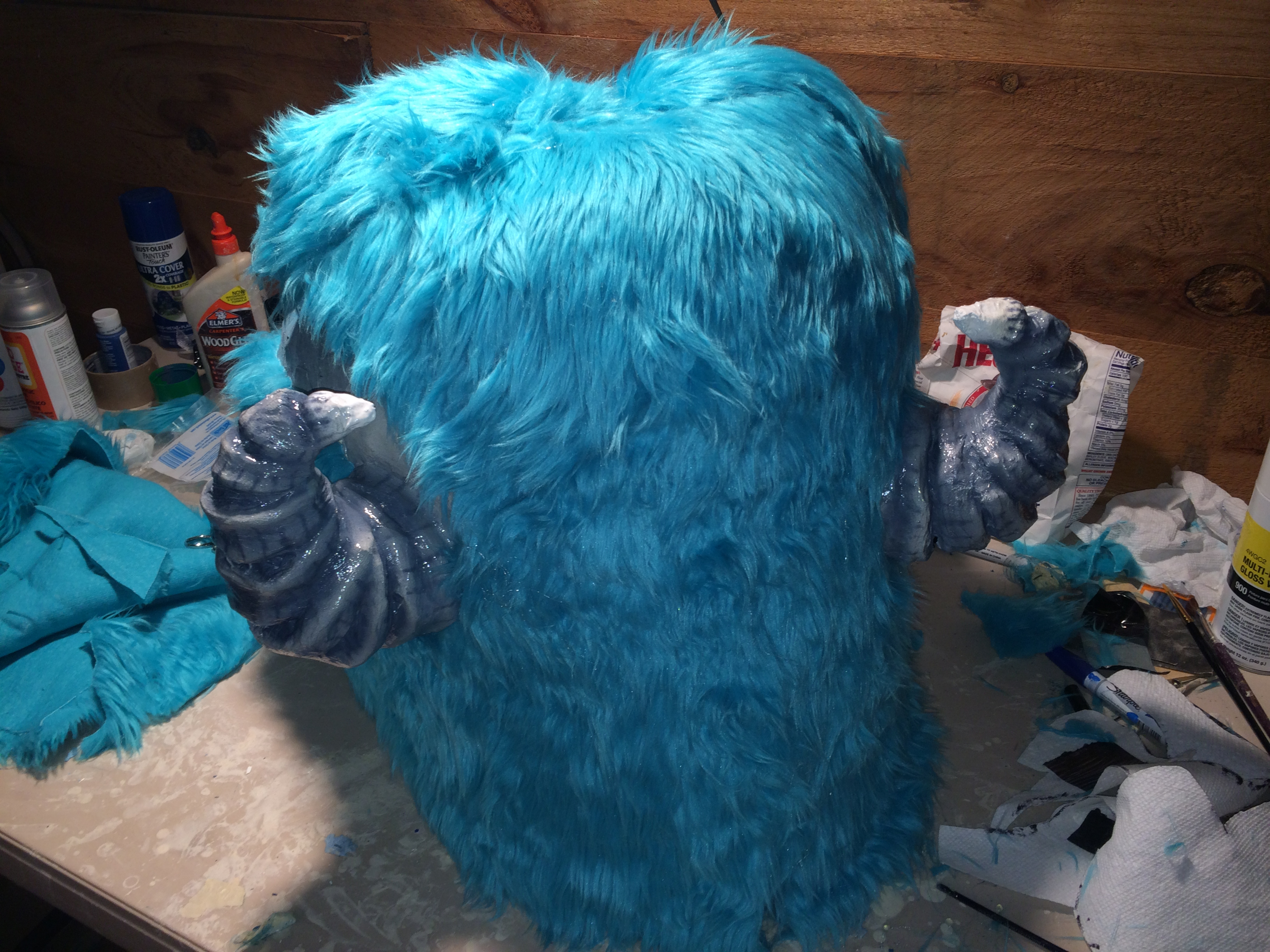 Picture of Applying the Fur
