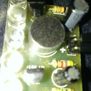 Sound to Light Control Circuit