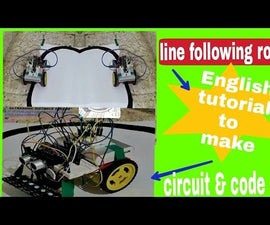 Line Follower Arduino Robot With Object Avoid