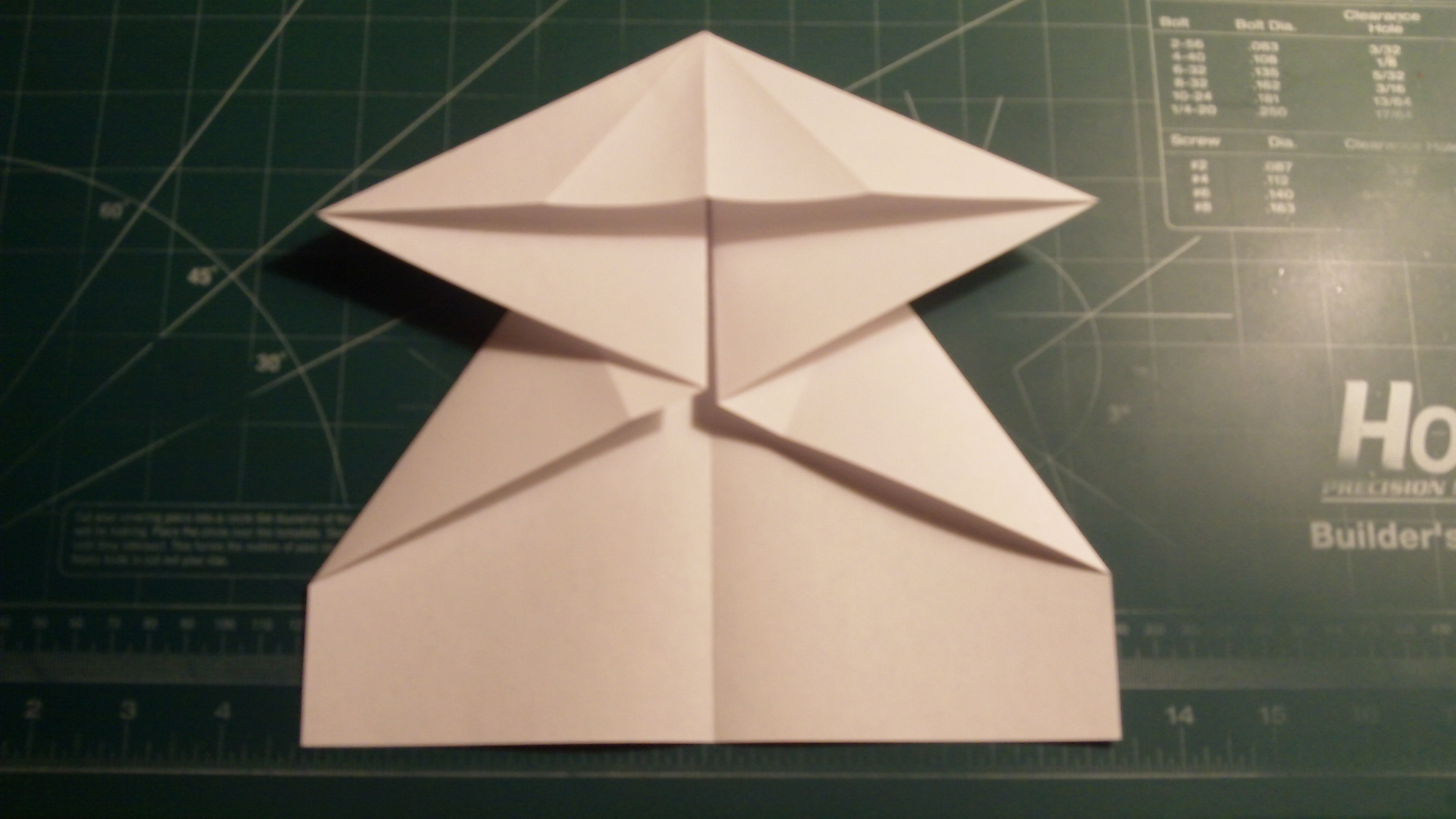 Picture of Cover and Canard Preparation Folding