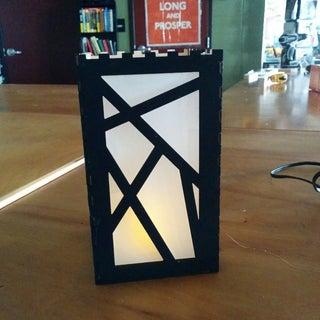 Laser-Cut Paper Lantern