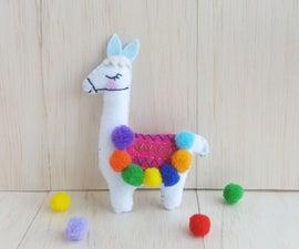 DIY Llama Plushie