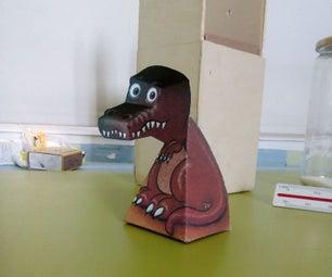 Crocodile Trompe L'oeil