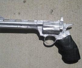 Cardboard .357 Magnum Prop