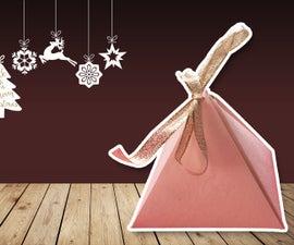 Origami Pyramid Box Tutorial ♥︎ DIY ♥︎ Cute Gift Box ♥︎ | Christmas Gift Ideas!
