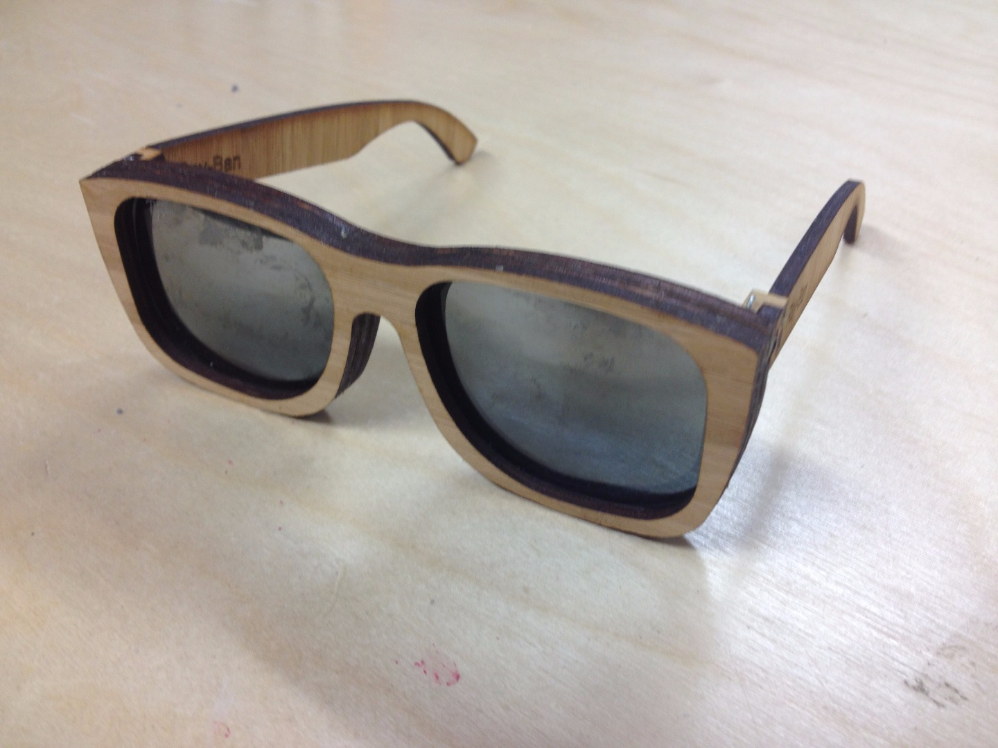 Picture of $5, No Tool, Bamboo Sunglasses