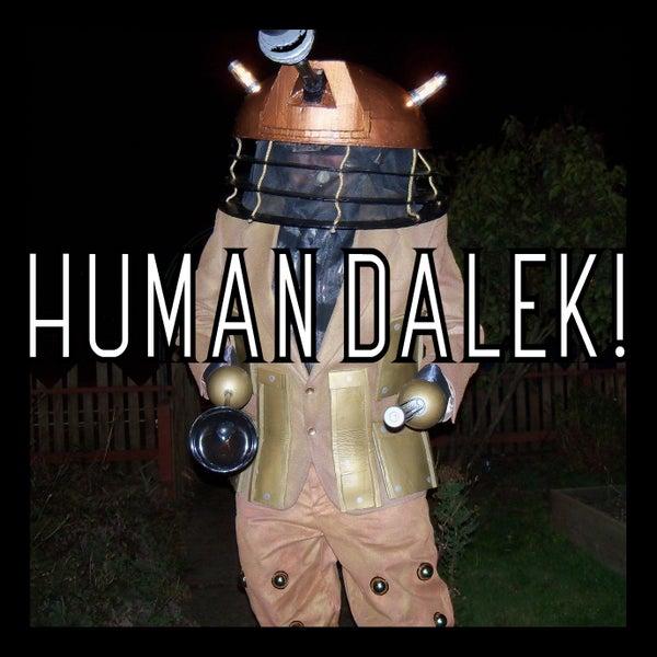 Human Dalek Costume!