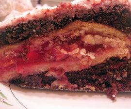 Black Forest Pake (Chocolate Cherry Pie-Cake)