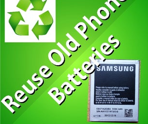 Reuse Old Phone Batteries As a Powerbank (earth Day Part 1)