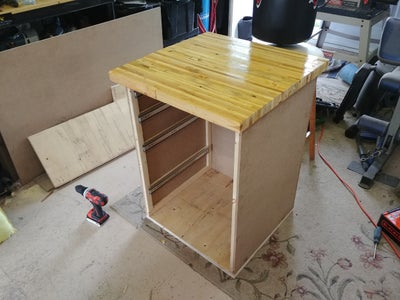 Assemble the Tool Cabinet Frame