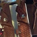 Camillus Titanium Leather Sheath