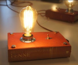 How to Make a Booklamp