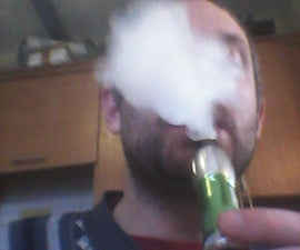 Improved Flashlight Electronic Cigarette - no soldering required