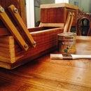 Wooden Concertina Tool Box