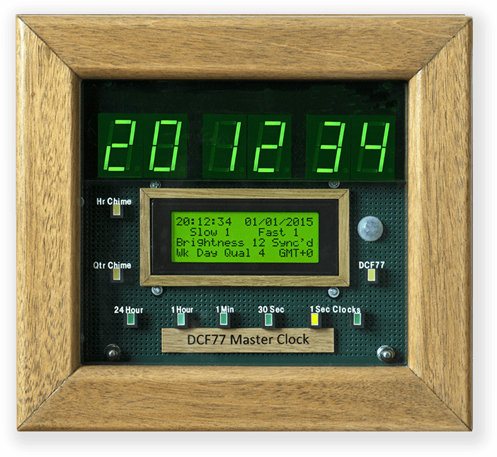 Picture of Arduino DCF77 Master Wall Clock