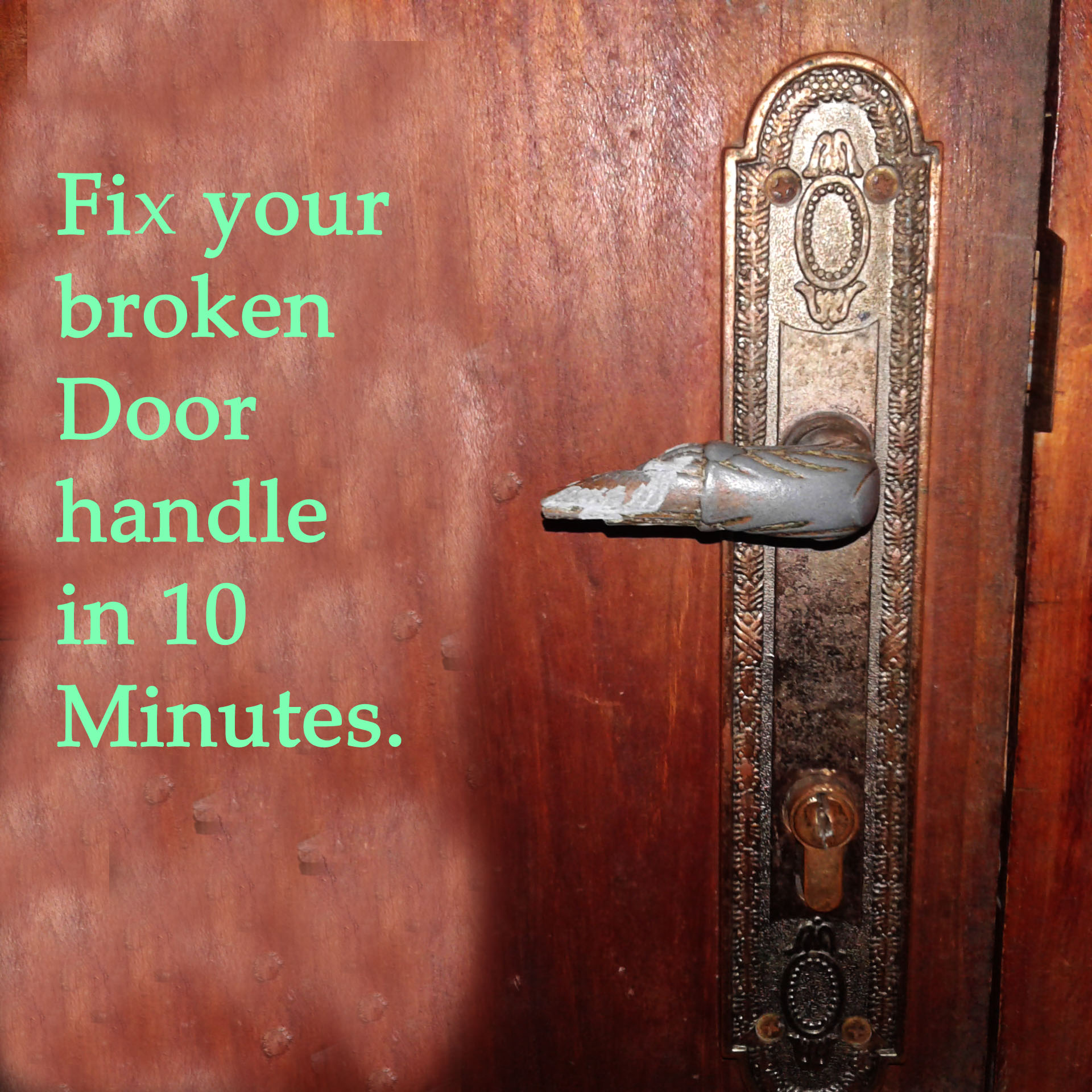 Picture of Fix a Broken Door Handle in 10 Minutes