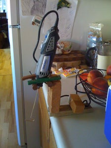 MilkShake Machine With Dremel (like the Ones at Snack Shops)