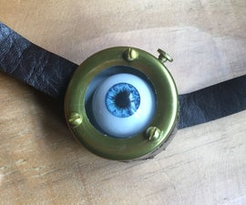 Mad Eye Moody - Moving Eyeball Prop