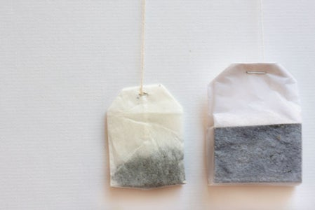 Faux Tea Bags With Tea-Scented Soap
