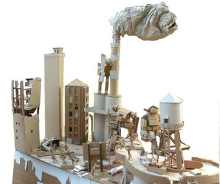 Turning a Cardboard City Into a Warhammer 40K Terrain