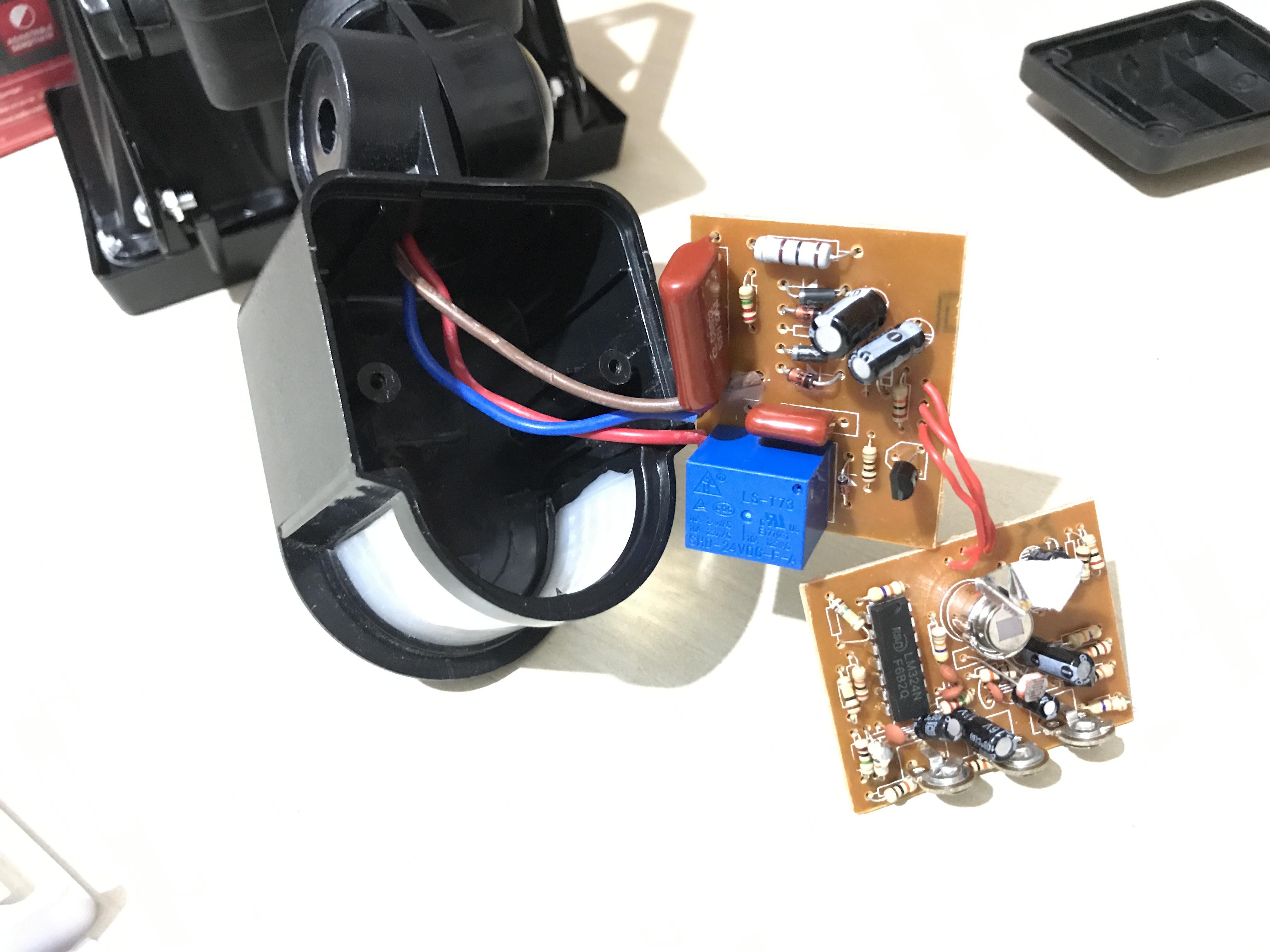 Picture of Remove the PIR Sensor