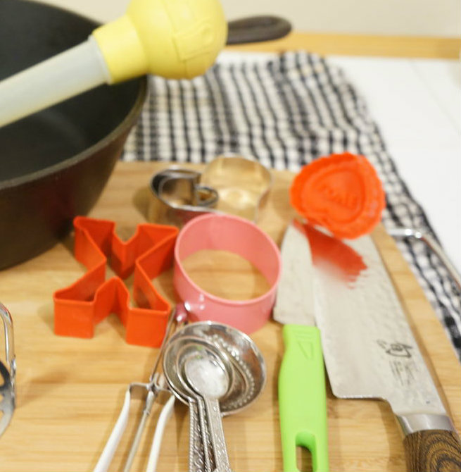 Picture of Ingredients and Utensils