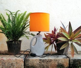 Cement Casted Lamp - Genteel