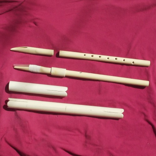 "Picture of Pvc ""TOOTOPHONE""  -- a Musical Reed Instrument"