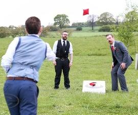 Star Wars themed Wedding Corn Hole game.