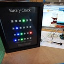 Binary Clock Using Neopixels