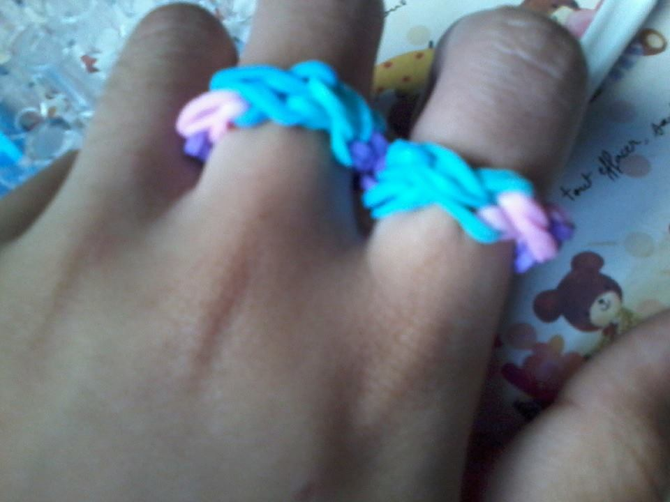 Picture of Rainbow Loom Ring- EASY