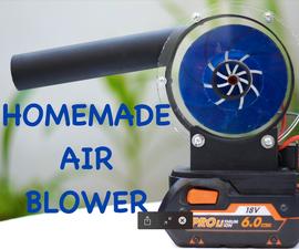 DIY Cordless Air Blower (Homemade Tools)