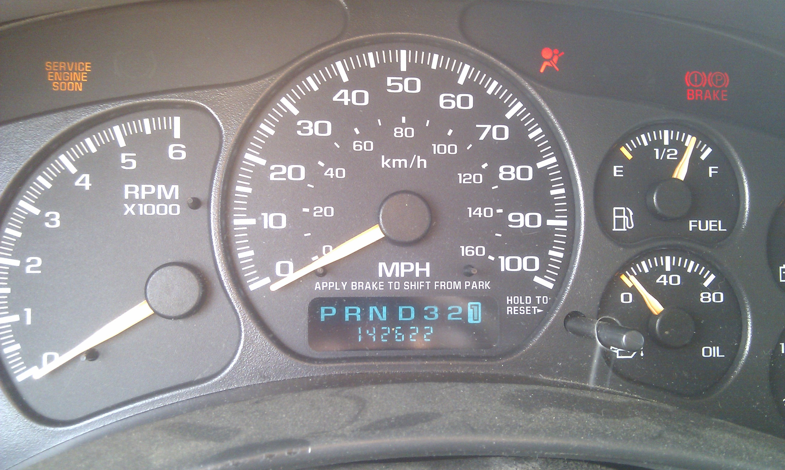 Picture of Repair the Odometer/PRND321 LCD Display on a '99-'06 GM/Chevy Truck