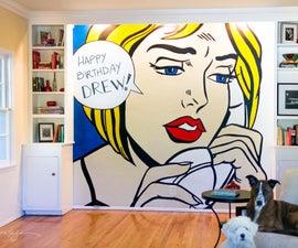 DIY Wall Pop Art