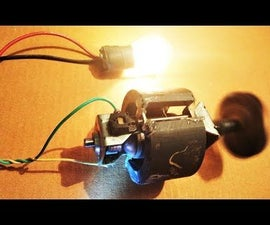 Making a PMDC Generator From a Dead Mixer Motor DIY