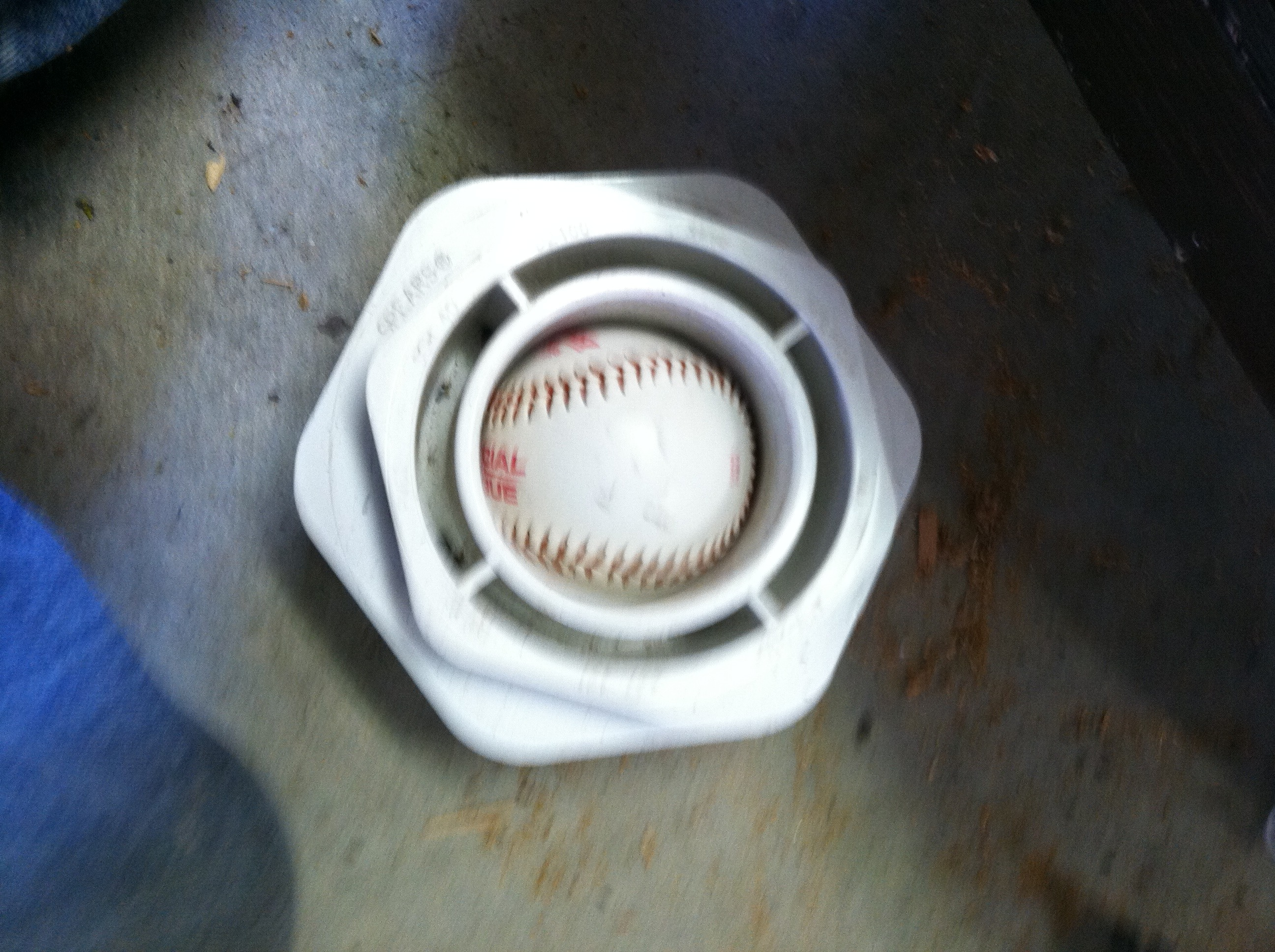 Picture of Drilling Baseballs