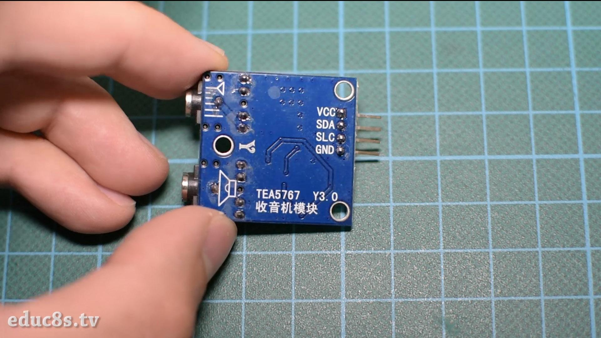 Picture of TEA5767 FM Radio Module