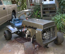 How to make a racing lawn mower (Updated!)