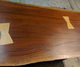 Make a Live Edge Table Finished in a Hand Rubbed Tung Oil Finish, Guaranteed to Make Your Neighbor Jealous.