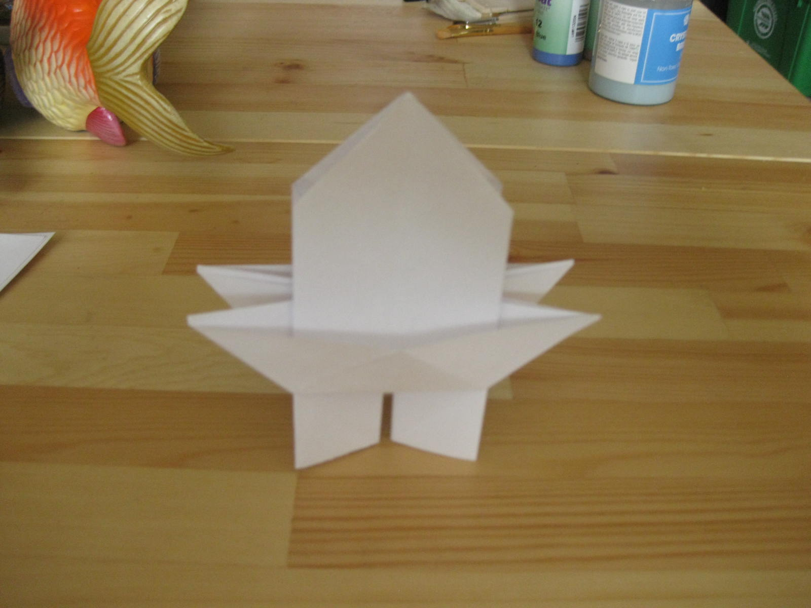 Picture of Origami: How to Make a Pagoda