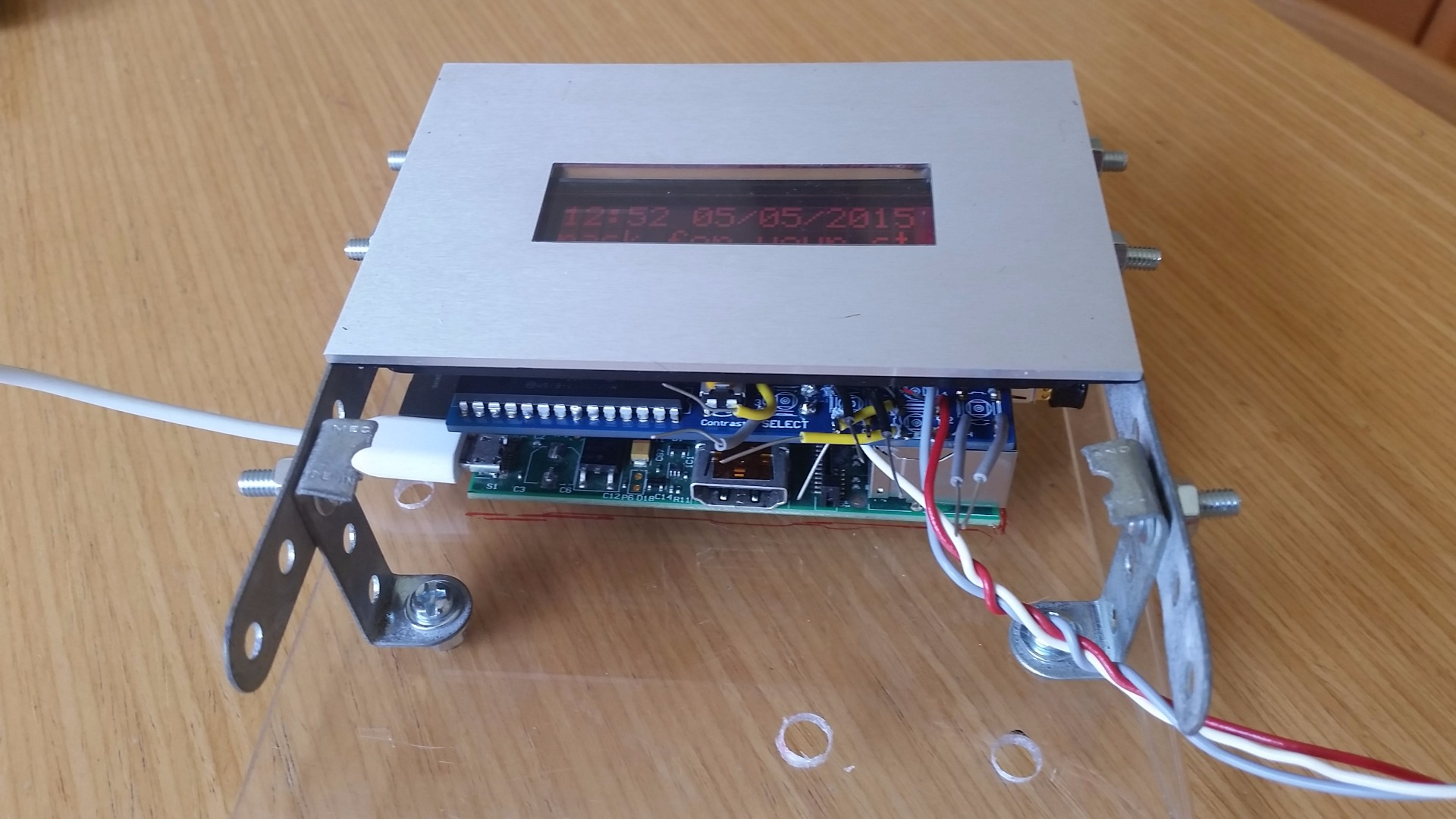 Picture of The Pi Platform and Big Buttons