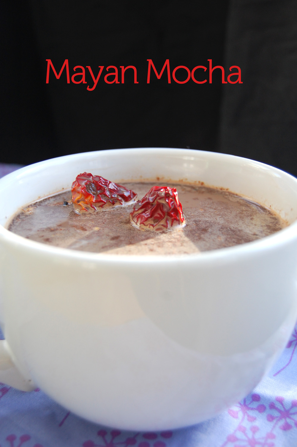Picture of Mayan Mocha Mocktail