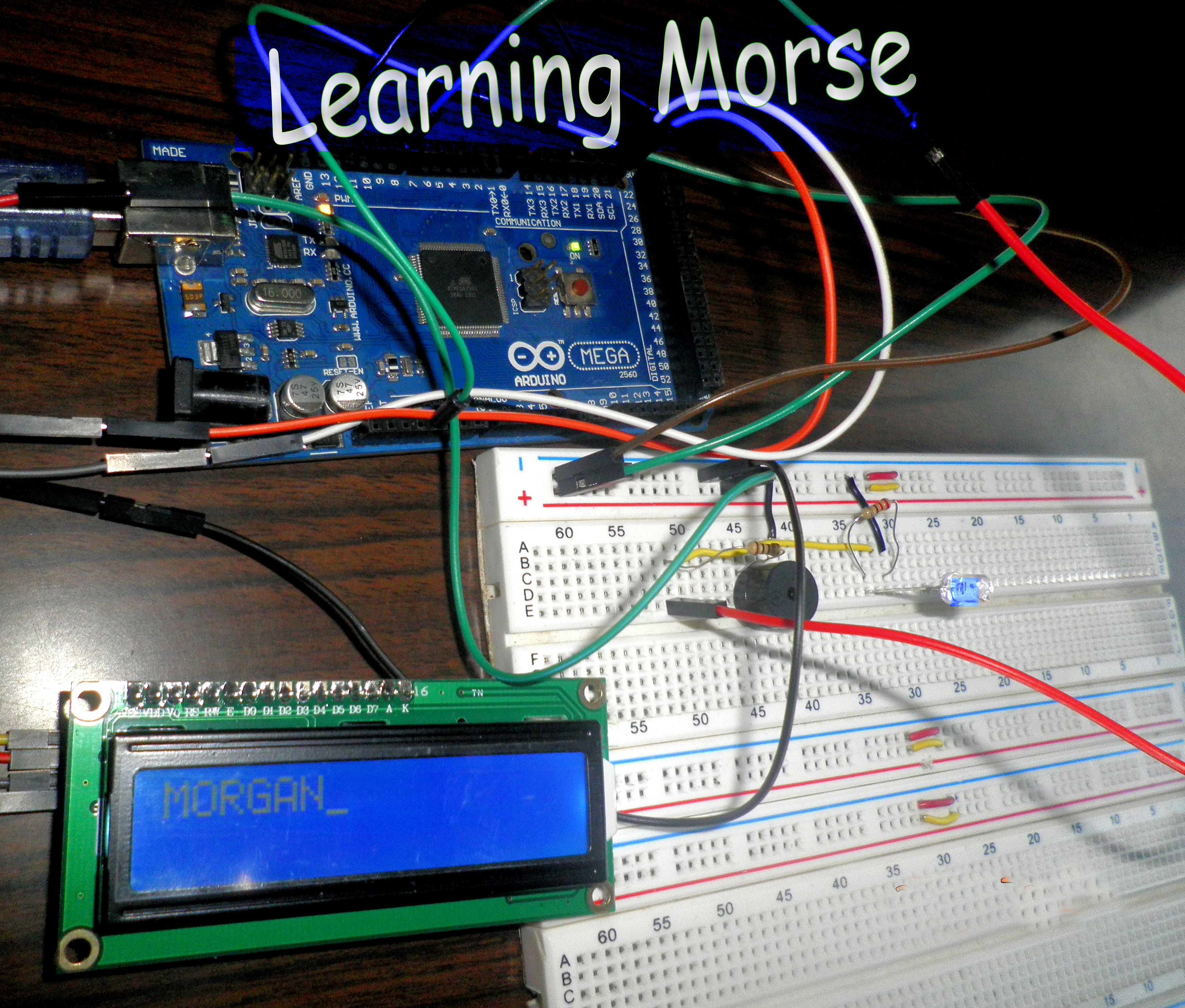 Picture of Learning Morse!!