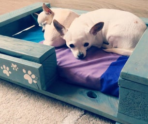 Pet Bed From Pallet - VIDEO