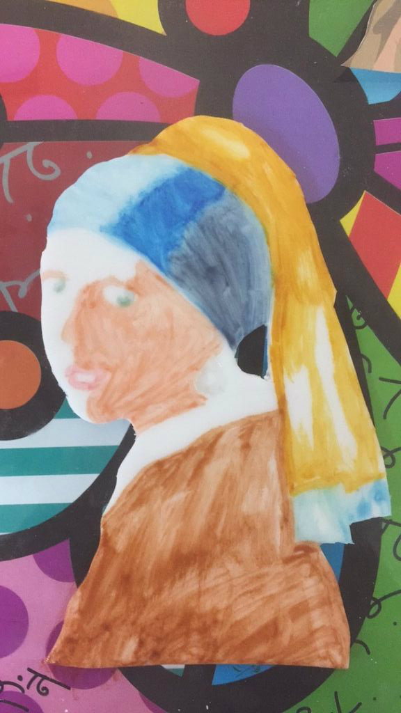 Picture of Create and Attach Your Girl With a Pearl Earring